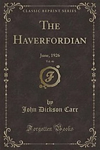 The Haverfordian June 1926=